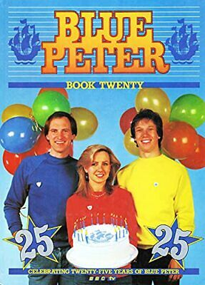 Book of Blue Peter Book 20 (Annual) Hardback Book The Cheap Fast Free Post