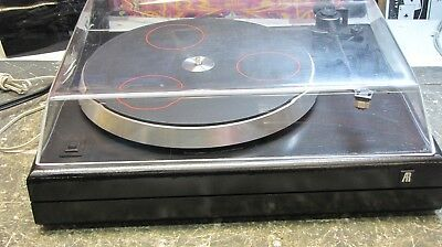 AR THE TURNTABLE Works Great with Dust Cover
