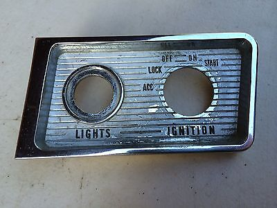 Holden Hd Hr Ignition And Lights Switch Surround