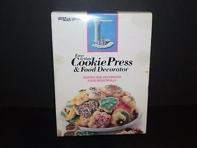 HUTZLER GERDA COOKIE PRESS & FOOD DECORATOR #695 ~ MADE in W. GERMANY FREE SHIP