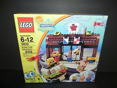 Lego Spongebob Squarepants 3833 Krusty Krab Adventures Minifigures