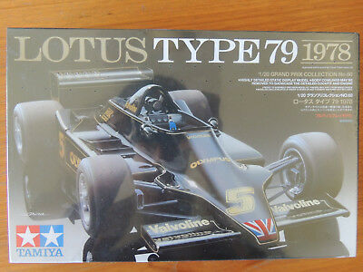 Tamiya 1/20 Scale F1 Lotus Type 79 Ford Andretti/Peterson New