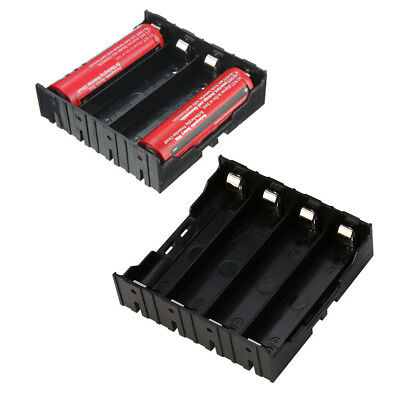 Akkubox Batteriebox Storage Holder Case für 4x 18650 Akku