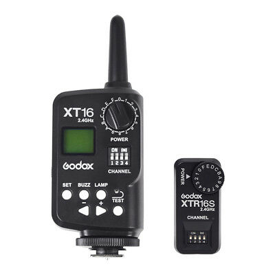 Godox XT-16S 2.4G Wireless Power Remote Control Flash Trigger for V850 and V860