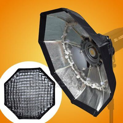Studio 70cm SILVER Portable Collapsible Honeycomb Grid Beauty Dish Bowens Mount