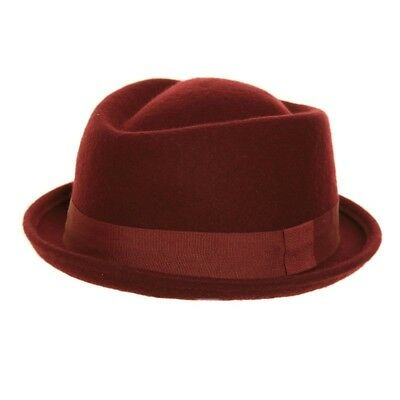 LANA FELTRO NERO Cappello Pork Pie Cappello - Breaking Bad   Mod ... 06b8c536a4ba
