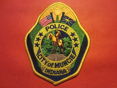Collectible Indiana Police Patch,Muncie,New