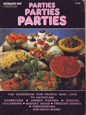 "Cookery Book: ""parties, Parties, Parties ""  Recipes For The Great Entertainer"