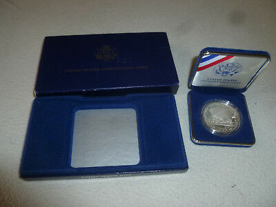 United States Mint Silver Dollar Coin Constitution 200Th Anniversary 1787 1987