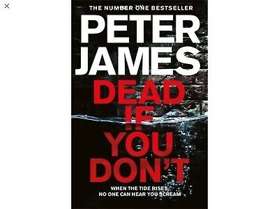 Peter James Dead If You Don't Roy Grace Paperback Pre Order Release 18/10/2018