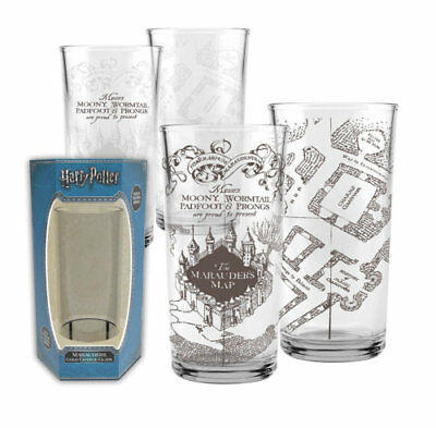 Harry Potter-Marauders Cold Change Glass-Watch The Map Appear!