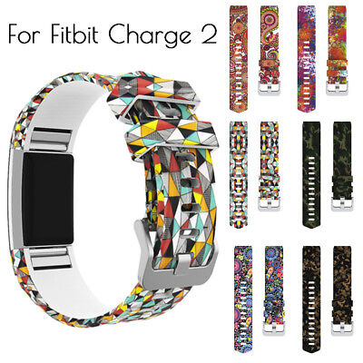 Soft Sport Band Silicone Replacement Wristband Wrist Strap For Fitbit Charge 2 K