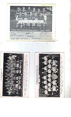 Barrow Afc 1954-55 Photograph + Autographs