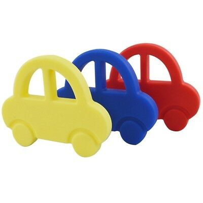 Baby Kids Car Silicone Teether Sensory Teething Dummy Pacifier Chewable Toy New