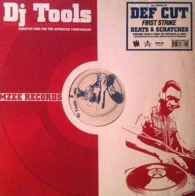 Def Cut - First Strike - DJ Tools Vinyl LP 0714432