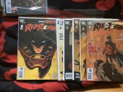Batman Reborn: Red Robin 1-6 1st Prints NM