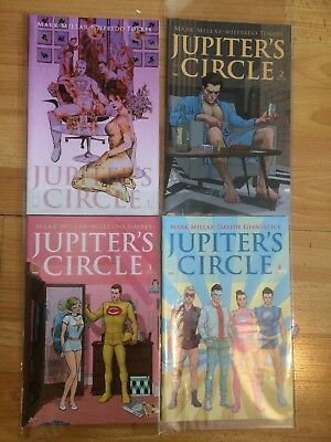 Jupiter's Circle 1-4 1st Prints NM