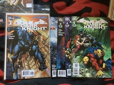 New 52 The Dark Knight 1-5 1st Prints NM