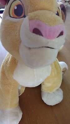 **RARE** Disney Store LION KING Simba Large Soft Toy