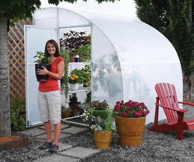 Solexx Harvester 8 Ft. W x 12 Ft. D Lean-To Greenhouse