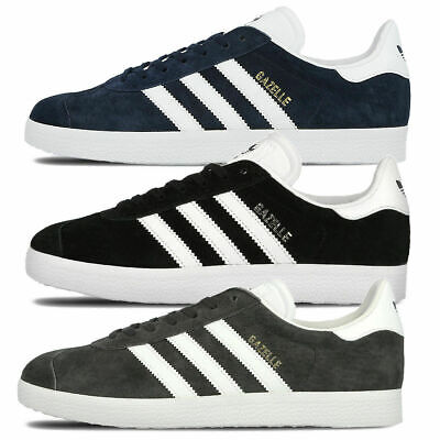 ADIDAS MENS GAZELLE Trainers Nubuck Leather Rubber Sole
