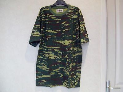TEE SHIRT CAMOUFLAGE MILITAIRE OUTDOOR PAINTBALL ARMEE    Marque : V MAX