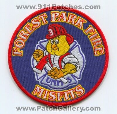 Forest Park Fire Department Unit 3 Patch Ohio Oh Company Co. Station Misfits