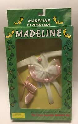 """Madeline Eden/Learning Curve BALLET CLASS Clothes Set for 8"""" Doll ~NEW!"""