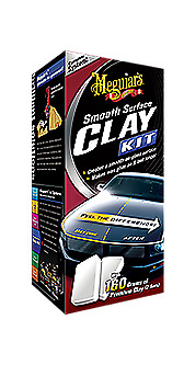 Meguiar's Smooth Surface Clay Kit Lucidatura Imperfezioni Auto