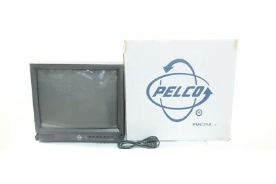 New Pelco PMC21A 21in Color Security Monitor 100-240v-ac