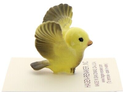 Canary Tweety Bird Pa Miniature Ceramic Model Figurine USA Made by Hagen-Renaker