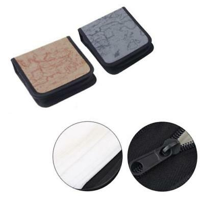 40 Disc CD DVD Holder DJ Storage Cover Box Case Wallet Bag Album~-