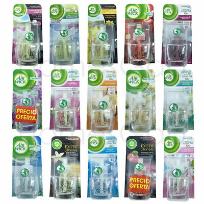 6 X Air Wick Plug In Refills for Airwick Gadget - choose your scent from £11.99!