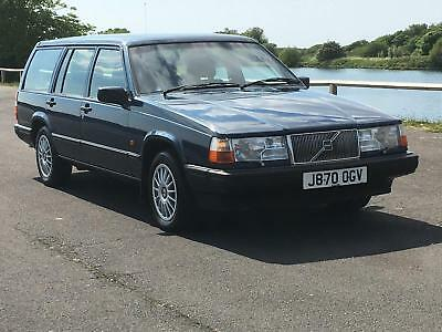 1991 Volvo 940 Gl 2.0 Auto Estate. Only 25,000 Genuine Miles From New .