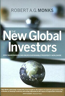 The New Global Investors by Monks, Robert A. G. Hardback Book The Fast Free