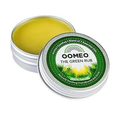 Green Rub - Arnica Comfrey muscle joint relief stiffness balm cream not gel