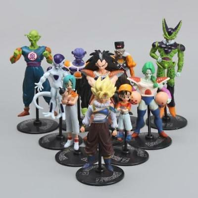 2018 Hot Sale Dragon Ball Z Set Of 10pcs Pvc Figures Toys Collection Anime Doll