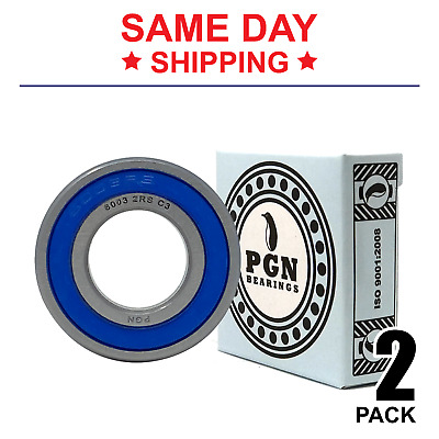 6003-2RS C3 Premium Rubber Sealed Ball Bearing 17x35x10 Qty. 10