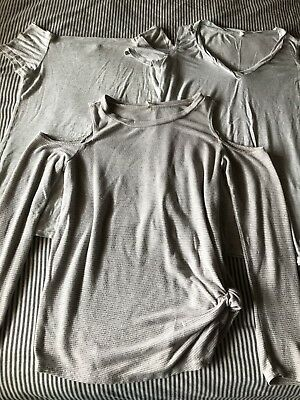 Lot Of 3 Pink Blush Maternity Tops