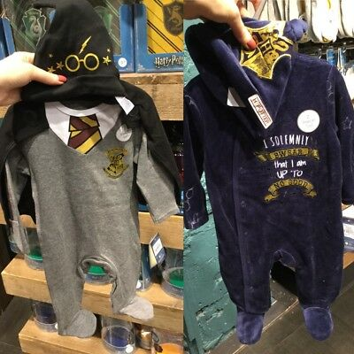 HARRY POTTER Baby Clothes Sleepsuit Hat Primark
