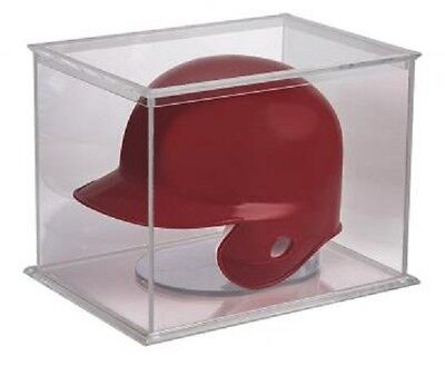 1 Ultra Pro Football or Baseball Mini Helmet Storage Holder Display Case UV SAFE