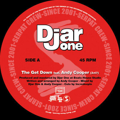 "Djar One - The Get Down / My World Vinyl 7"" NEU 0902530"