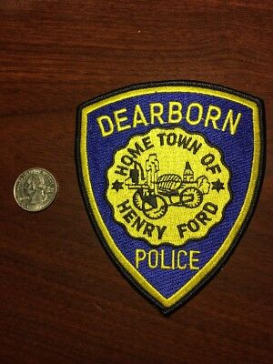 Dearborn Michigan Police Department Patch Henry Ford Mi