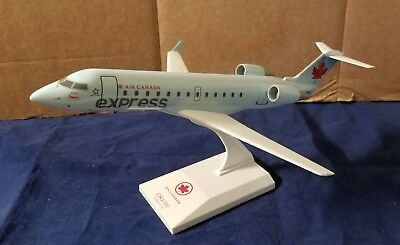 SkyMarks Air Canada Express CRJ-100 Bombardier Airplane Model 1:100 Scale