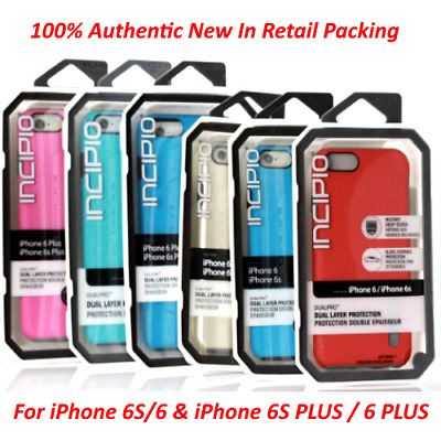 Incipio Dualpro Shockproof Hybrid Rugged Cover Case For iPhone 6S/6 & PLUS 6S/6