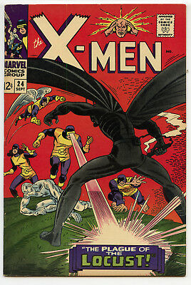 X-MEN #24 (Marvel 1966) VF- condition! NO RES!