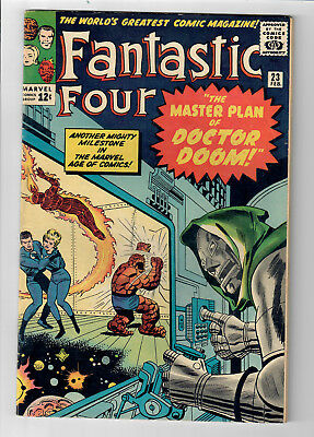 "FANTASTIC FOUR #23 - Grade 6.0 -  ""The Master Plan of Doctor Doom!"""