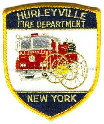 Hurleyville Fire Department Patch New York NY