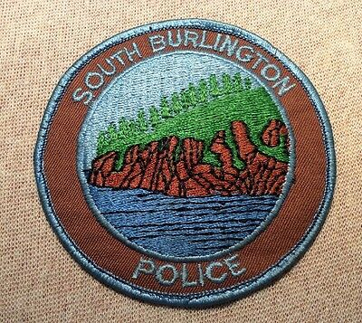VT South Burlington Vermont Police Patch