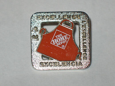 Home Depot- Excellence Apron Pin
